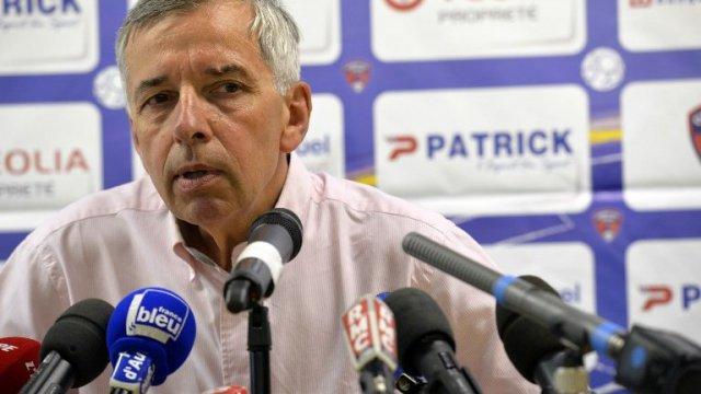 Président Claude Michy du Clermont Foot Auvergne 63
