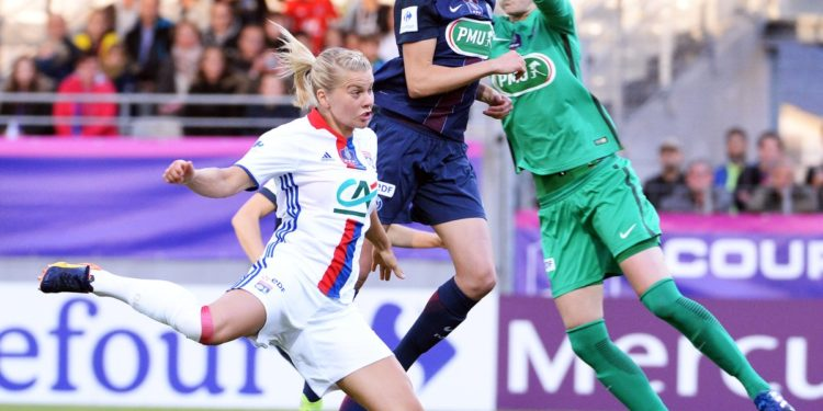 Source France4 TV la finale de la Coupe de France 2017. Crédit lesfeminines.fr