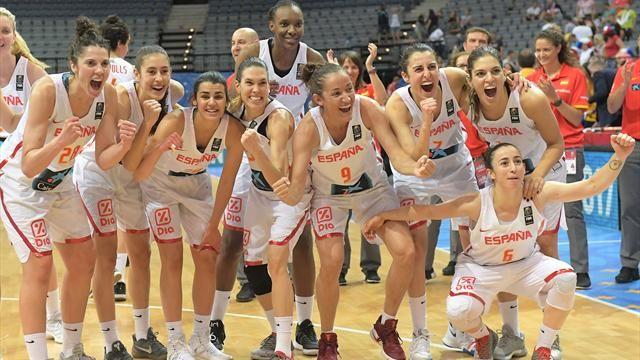 Finale Euro Basket 2017. France-Espagne. Crédit ffbb. lesfeminines.fr