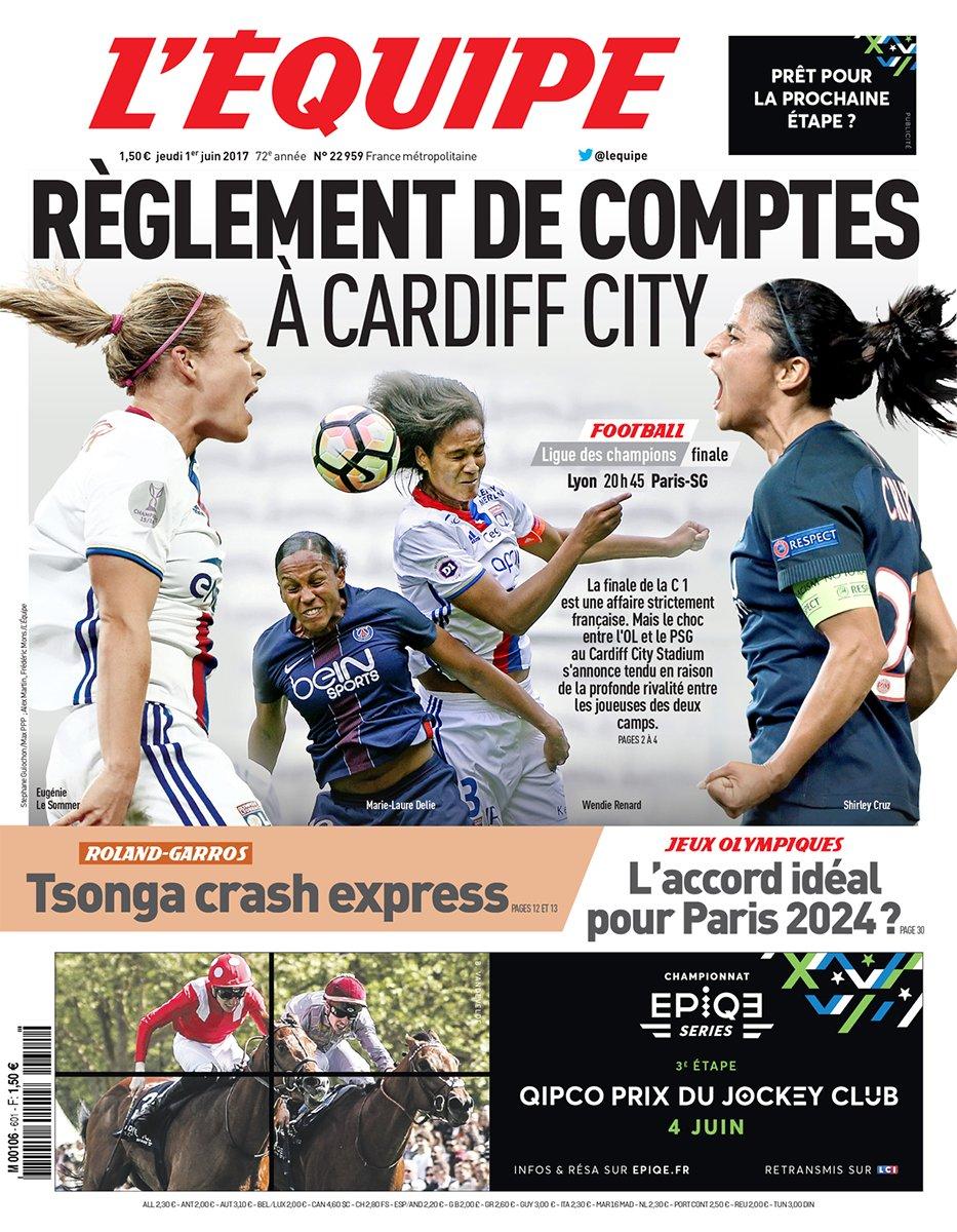 FINALE WCL 2017 – OL-PSG «Un avant-goût de Coupe du Monde 2019 !»