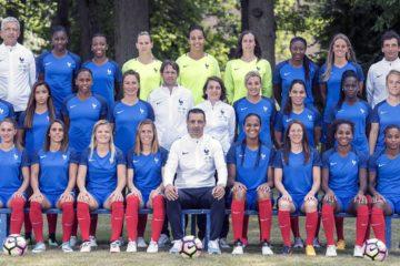 L'Equipe de France 2017 en route pour l'Euro. Crédit fff. Lesfeminines.fr