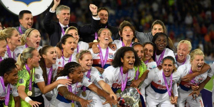 Olympique Lyonnais, 4è titre européen. Crédit UEFA. Lesfeminines.fr