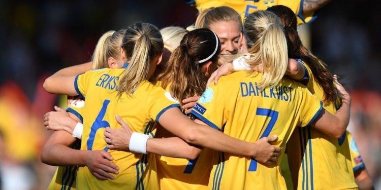 La suède de Pia Sundhage a un regard très américain vers le titre. Crédit UEFA. Lesfeminines.fr