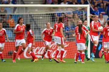 La Suisse s'impose face à l'Islande (1-2) et se replace dans le groupe C. Crédit UEFA. Lesfeminines.fr
