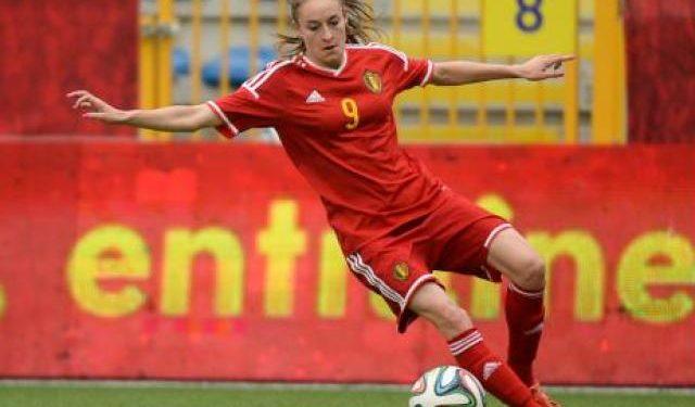 Tessa Wullaert, sacrée meilleure joueuse belge avant son départ pour Wolfsburg. Crédit redflames. Lesfeminines.fr