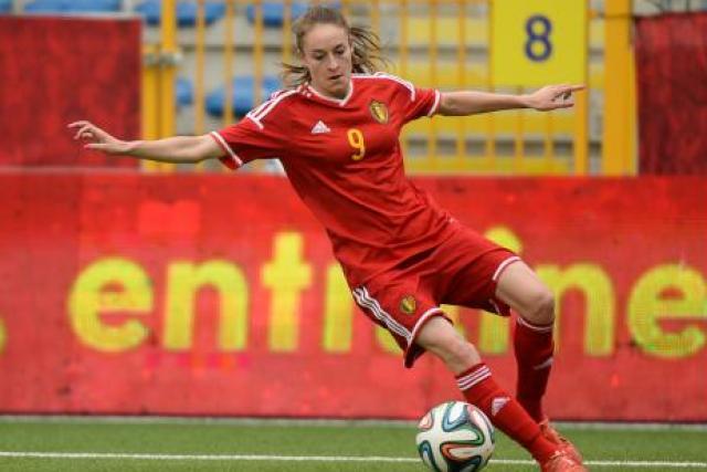 Euro 2017 – France-Belgique- Tessa Wullaert (Wolfsburg), nous venons à l'Euro sans pression