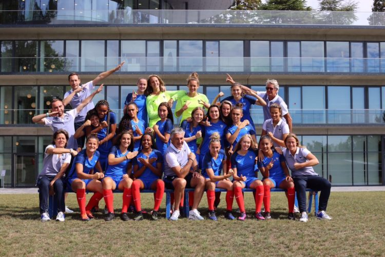 Photo de l'équipe de France U19. lesfeminines.fr
