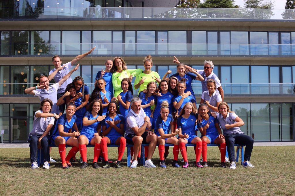 Photo de l'équipe de France U19. lesfeminines.fr