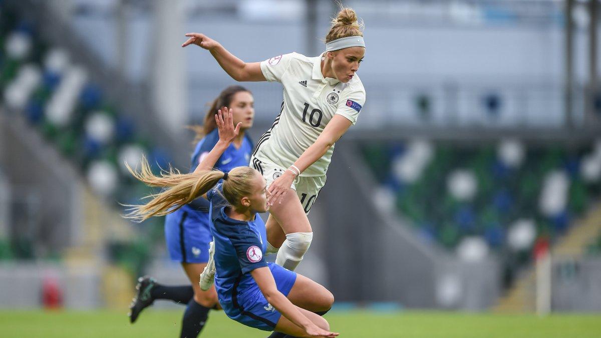 Un combat que la France a remporté face à l'Allemagne (1-2) pour se qualifier en finale. Crédit UEFA. Lesfeminines.fr