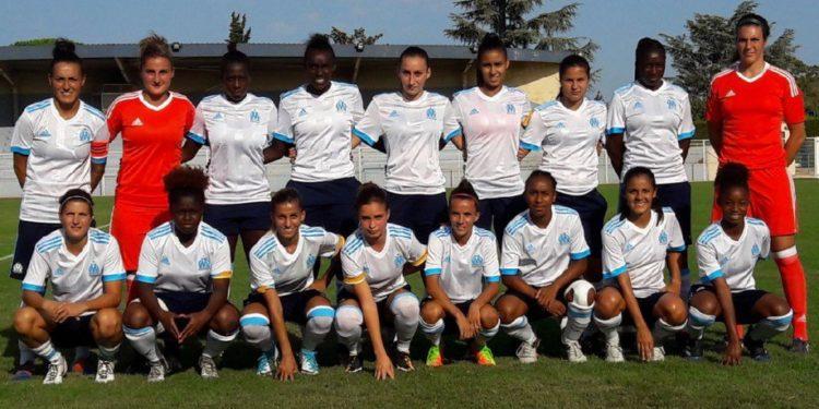 L'équipe féminine de l'OM. Crédit OM.net. Lesfeminines.fr