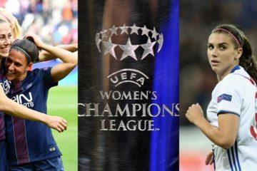 Affiche de 'UEFA sur les deux finalistes de la Women Champion's League en 2016. Crédit UEFA. lesfeminines.fr