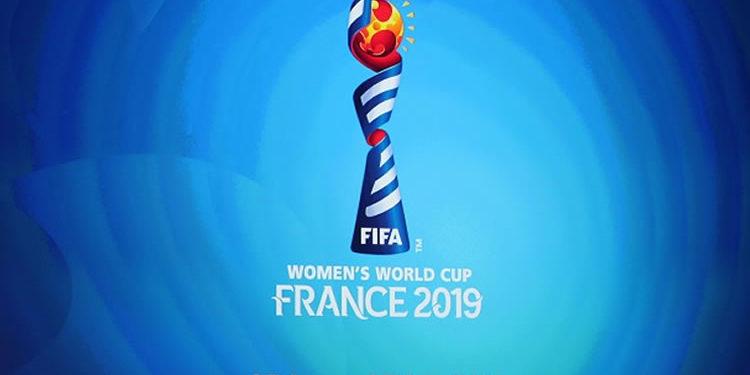 Logo coupe du monde féminine de football. Date to shine. Le moment de briller. Credit lesfeminines.fr