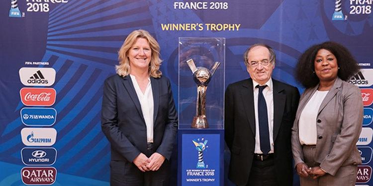 Officiel-lancement de la coupe du monde 2018 à rennes. Crédit LOC. lesfeminines.fr
