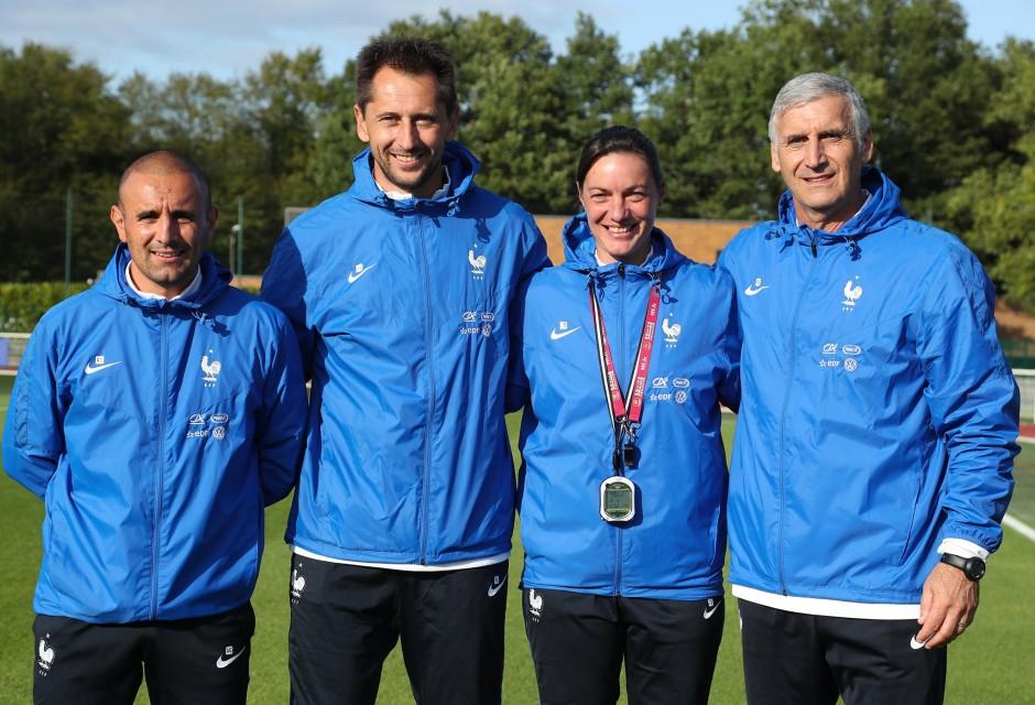 EDF – France Italie – Un staff impressionnant en monde Coupe du Monde 2019