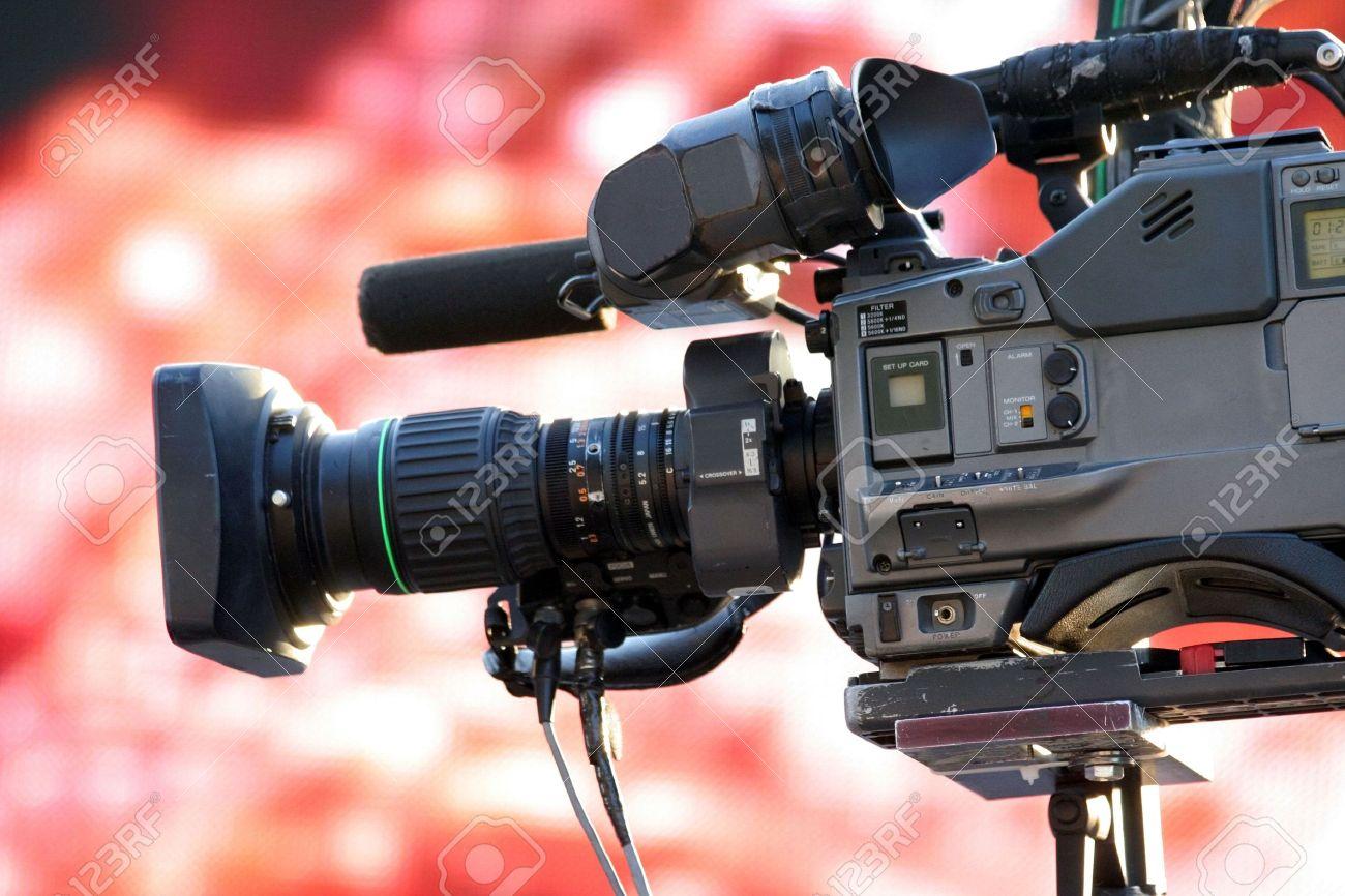 532436-cam-ra-vid-o-pour-la-diffusion-TV-news–Banque-d'images-1