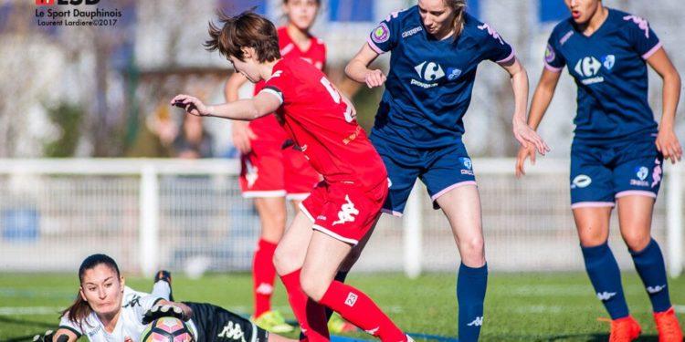 JUlie Piga - Grenoble - Source Le sport Dauphinois. Lesfeminines.fr
