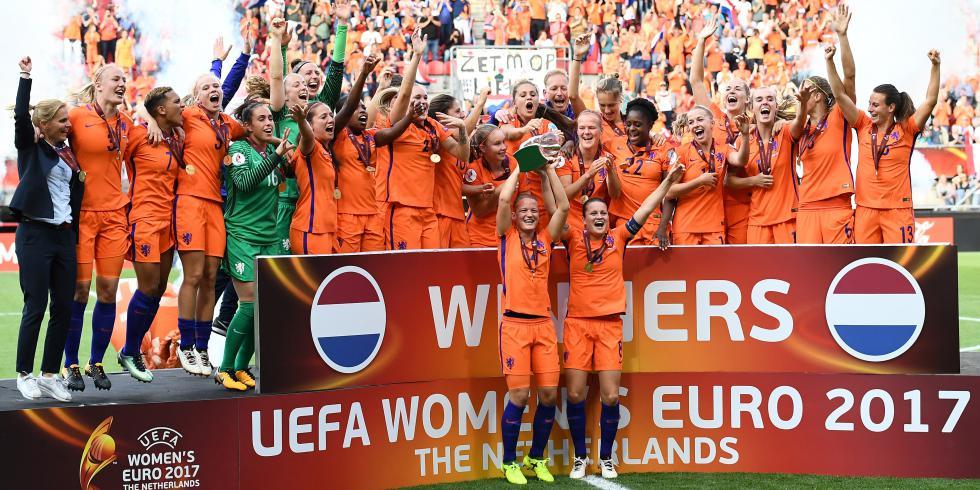 Les Pays-Bas vainqueur de l'Euro 2017