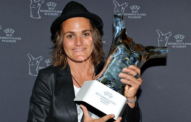 Nadine Angerer 2013 UEFA