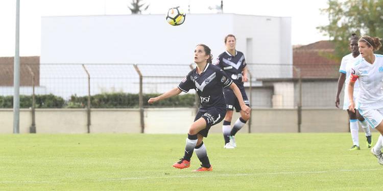 Solène Barbance, aux Girondins de Bordeaux depuis cette saison 2017-2018. crédit : les girondins. Lesfeminines.fr