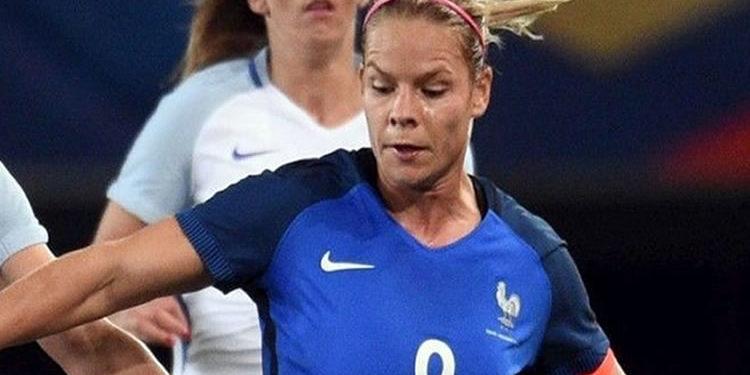 Eugènie Le Sommer. Equipe de France. Lesfeminines.fr