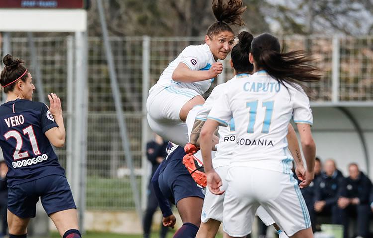 Olympique de Marseille - Paris Saint Germain. Crédit : Om.net Lesfeminines.fr