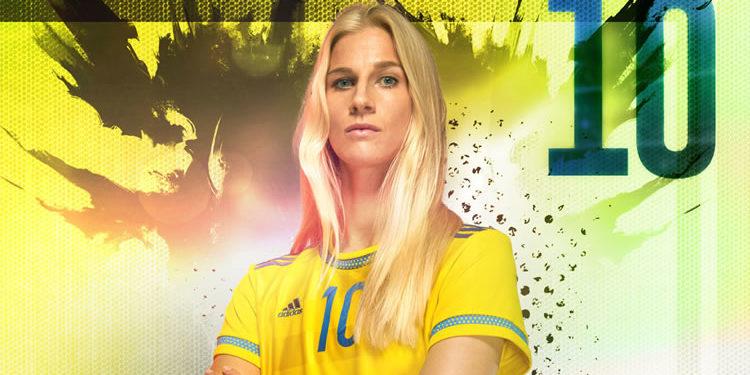Sofia Jakobsson, internationale suédoise. Source : fédération suédoise. Lesfeminines.fr