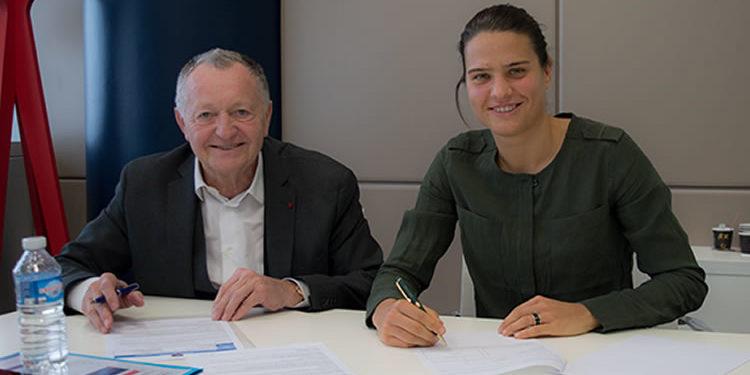 Dzsnefier Marozsan signe avec l'OL pour deux nouvelles saisons. Crédit olweb. Lesfeminines.fr