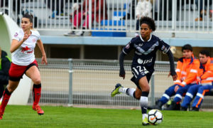Bordeaux Fleury, Mylaine Tardieu. Crédit Girondins. Lesfeminines.fr