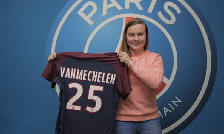 D1F – Le PSG recrute aussi en janvier : une jeune belge de 18 ans comme avant-centre.