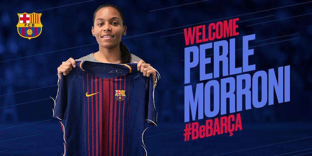 ITW- FC Barcelone-OL – Perle Morroni : «J'espère que je réussirais à réaliser quelque chose de grand avec le football !»