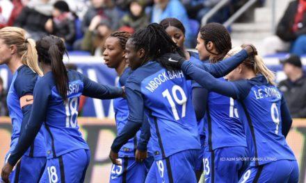 SHEBELIEVESCUP2018  – Les Bleues, touchées en début de tournoi, ont coulé l'Allemagne ce soir (3-0).
