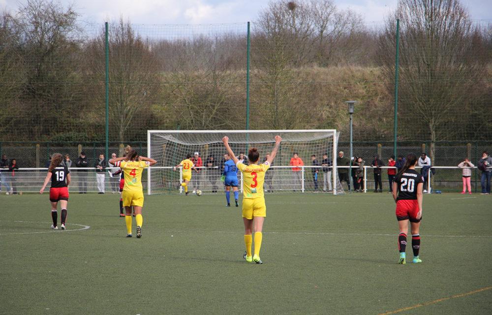 D1F Albi logiquement s'impose à Fleury (0-1), trop joueur par manque d'expérience.
