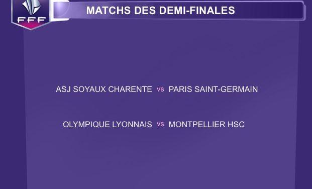 Demi-finale CDF – Soyaux-Psg et OL-Montpellier. Tout est dit ou rien ne peut être dit pour autant !