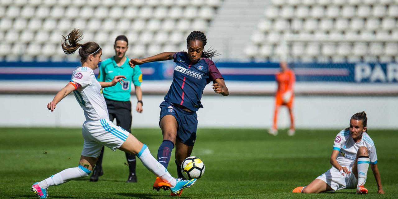 D1F – l'Ol et le PSG devant, Montpellier et le PFC remplacée par Bordeaux et Fleury. Rodez et Metz dans la tourmente.