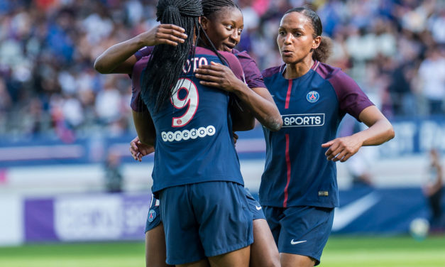 Patrice Lair aiguise ses mots et ses sens ! Sold out au Parc, pour le football féminin, c'est possible !