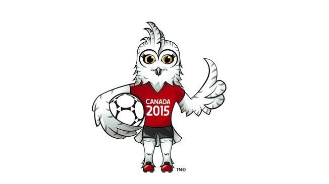 Shuéme, mascotte de la Coupe du Monde 2015 au Canada. Crédit FIFA lesfeminines.fr