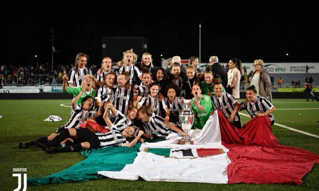 La Juventus è Campione d'Italia 2017 – 2018