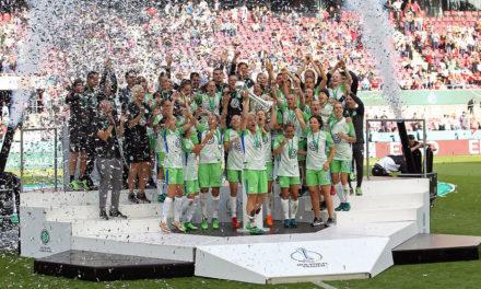 Vfl Wolfsburg vainqueur de la Coupe d'Allemagne 3 tab à 2 contre le Bayern de Munich