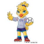Ettie, la mascotte de la Coupe du Monde féminine de football 2019