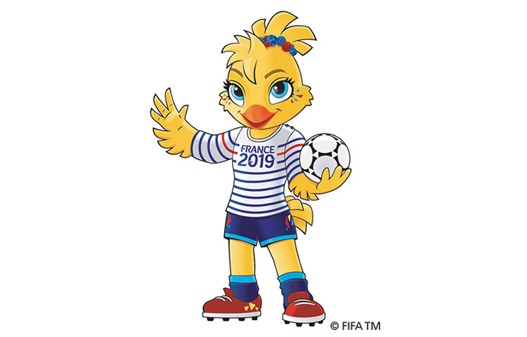 Ettie la mascotte de la coupe du monde f minine de - La mascotte de la coupe du monde 2014 ...