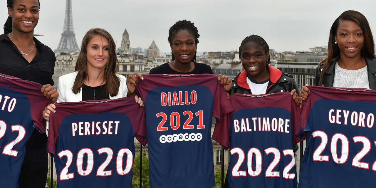 PSG – Une armada de jeunes joueuses s'engagent sur du long terme au Paris Saint Germain