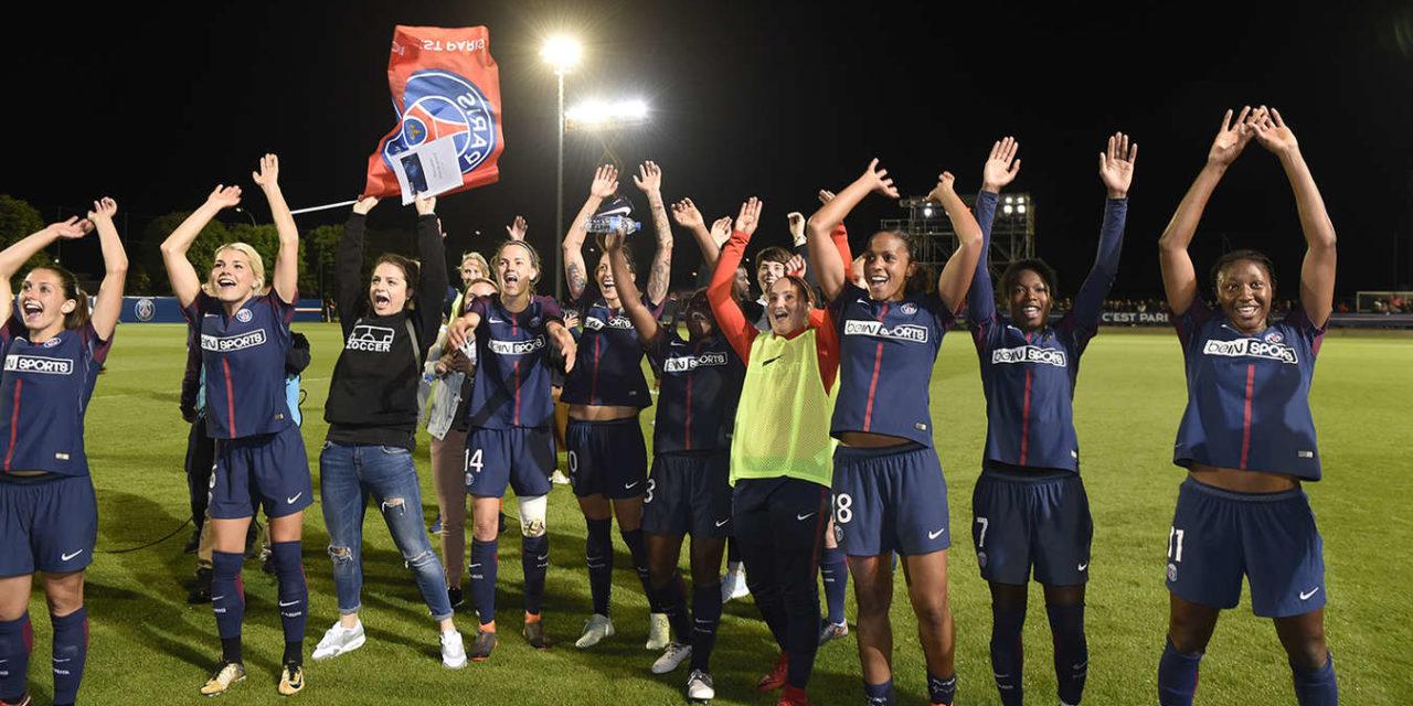 D1F – 21J – Paris Saint Germain (0-0) Olympique Lyonnais : FORCE LYONNAISE CONTRE COURAGE PARISIEN