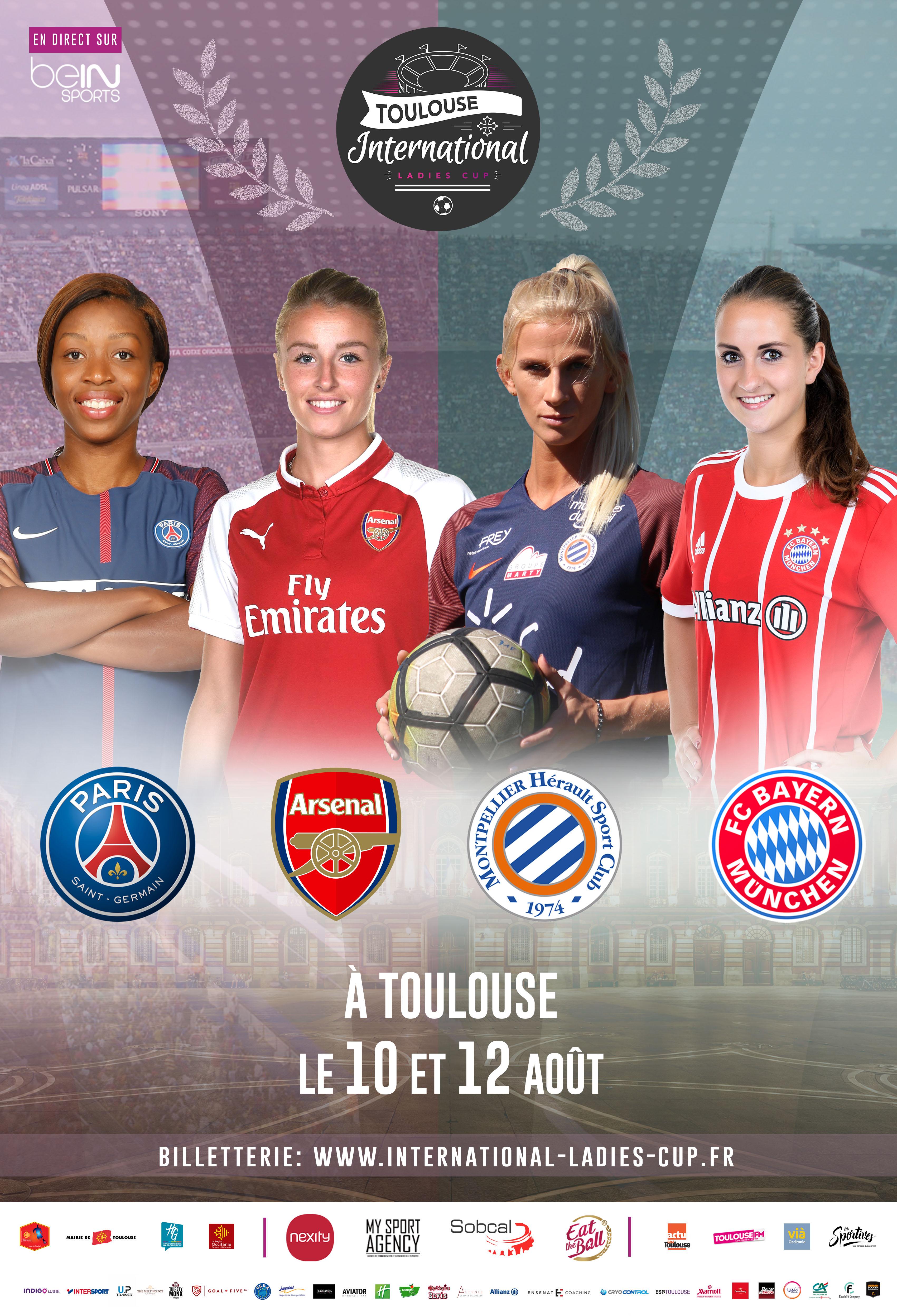 Toulouse International Ladies Cup – Vient voir du beau, du rapide, du vite, du performant, les 10 et 12 Août 2018 ! Cadeau, c'est pour toi !