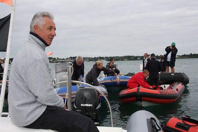 Michel Gillet lors de la Semaine du Golfe.