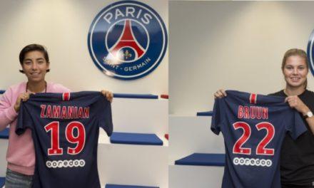 Mercato – Le PSG ferme le mercato avec trois signatures pour les féminines.