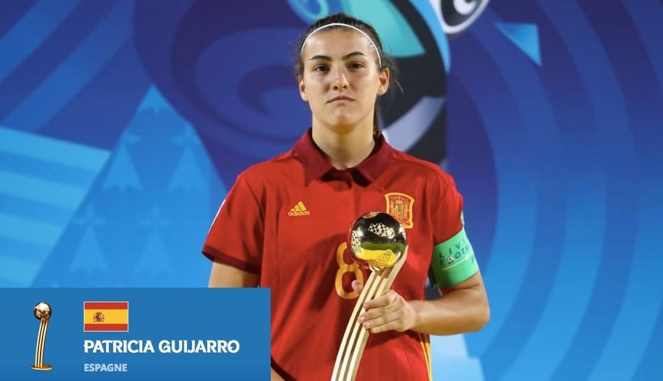 Mondial U20 – Ballon d'Or et Soulier d'Or pour Patricia Guijarro (Espagne) !