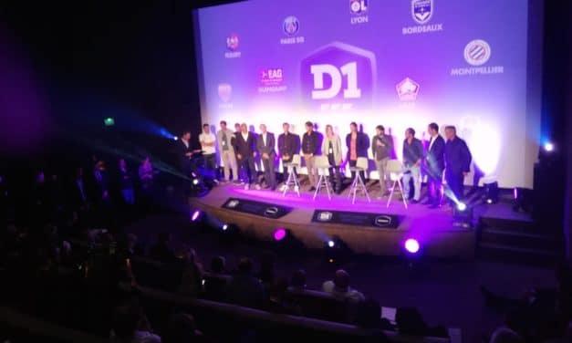 D1F – Présentation à Canal – Canal mord à belles dents dans le football féminin.