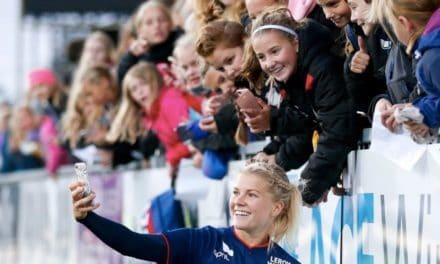 UEFA – Ada est une norvégienne lyonnaise aimée par le peuple norvégien !