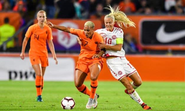 Play-Off Pays-Bas (2-0) Danemark. Van de Sanden «C'est génial, mais avons encore trois matches à faire !