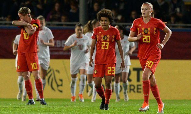 Play-Offs Aller- Belgique (2-2) Suisse- La Belgique, présente, prête à jouer sa chance en Suisse.